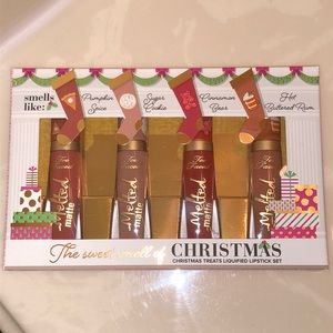 Too Faced The Sweet Smell of Christmas Lip Set LE
